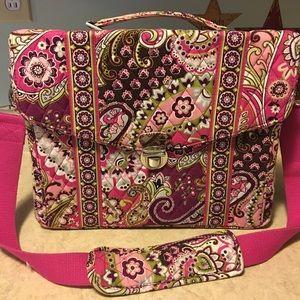 Large briefcase style Vera Bradley bag. * see pics